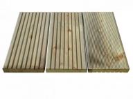 Geimpregneerd grenen terrasplank