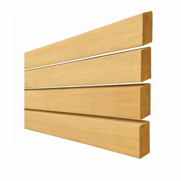 Tuinhoutmarkt tuinwand afromosia - Latwerk houten ...
